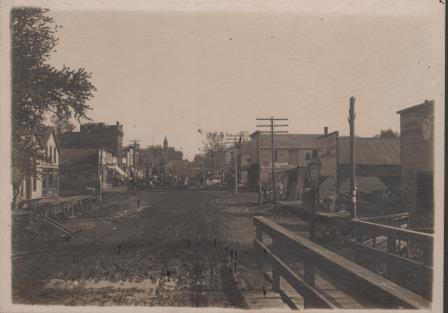 Downtown Papillion Late 1800's