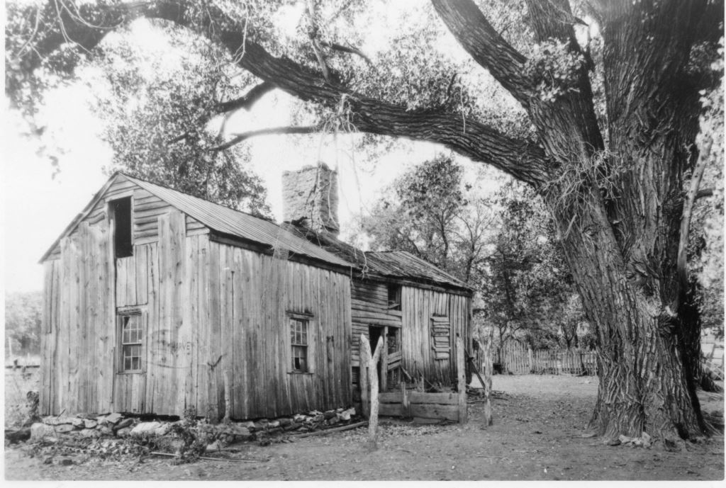 The Moses Merrill Mission Site as it appeared in 1922.