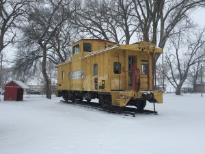Sarpy County Museum - Union Pacific Train Caboose