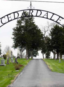 Cemetery walk @ Cedar Dale Cemetery | Papillion | Nebraska | United States